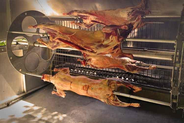 camargue traiteur rotisserie barbecue g ant pour pi ces la broche. Black Bedroom Furniture Sets. Home Design Ideas
